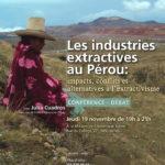 Les industries extractives au Pérou (Affiche)